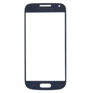 For Samsung Galaxy S4 Mini I9190 i9195 Front Glass Lens Blue