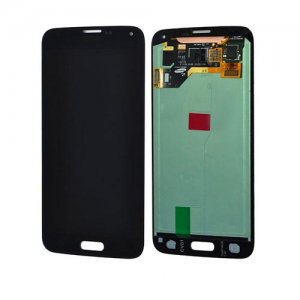 Original Refurbished Black LCD Screen and Digitizer Assembly for Samsung Galaxy S5 G900 All Versions