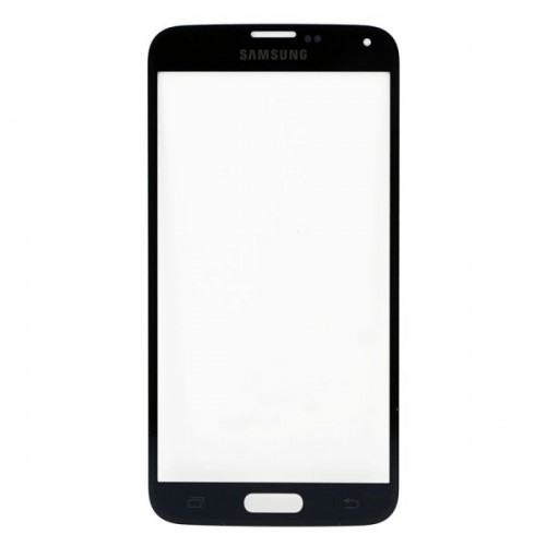 For Samsung Galaxy S5 Front Glass Lens Black