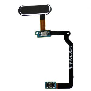 Home Button Flex Cable Repair Part for Samsung Galaxy S5 SM G900 -Black