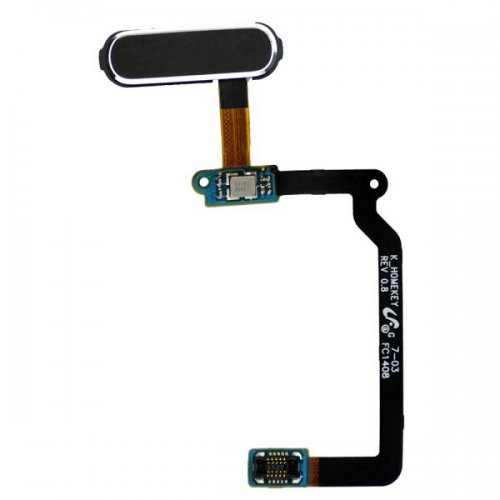 Home Button Flex Cable Repair Part for Samsung Galaxy S5 SM G900 -Black
