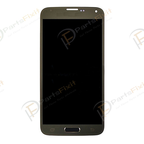 Gold LCD Screen Digitizer Assembly for Samsung Gal...