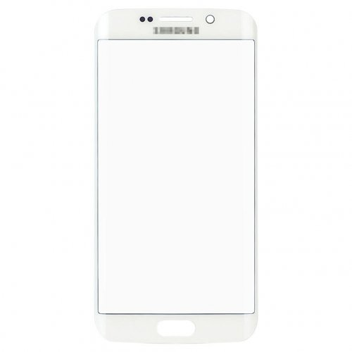 Front Glass Lens for Samsung Galaxy S6 Edge+ White