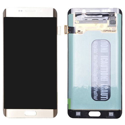 LCD with Digitizer Assembly for Samsung Galaxy S6 Edge+ Refurbished Gold