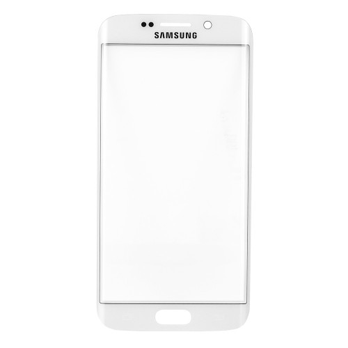Original for Samsung Galaxy S6 Edge Front Glass Lens White