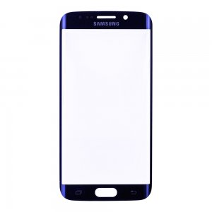 Original for Samsung Galaxy S6 Edge Front Glass Lens Blue