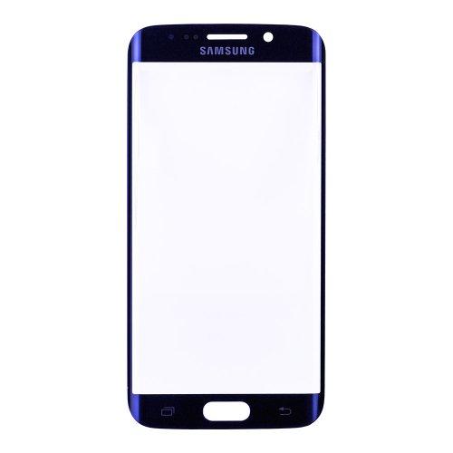 Original for Samsung Galaxy S6 Edge Front Glass Lens Blue