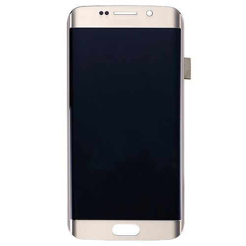 LCD with Digitizer Assembly for Samsung Galaxy S6 Edge/G925F Gold Refurbished