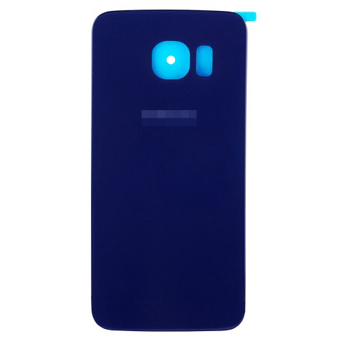 For Samsung Galaxy S6 Edge Battery Cover Blue Original