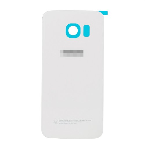 For Samsung Galaxy S6 Edge Battery Cover White