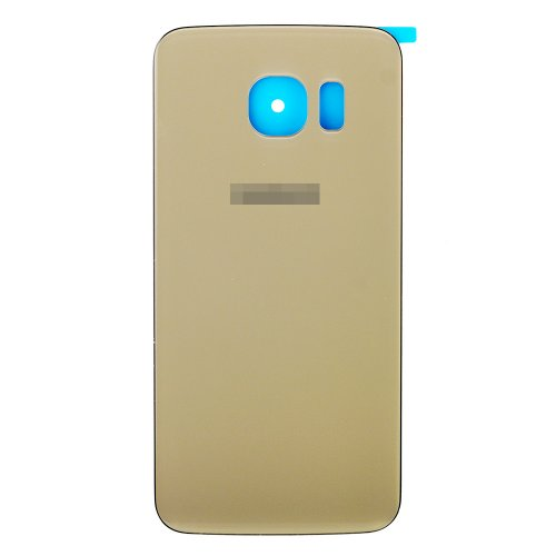 For Samsung Galaxy S6 Edge Battery Cover Gold High Copy