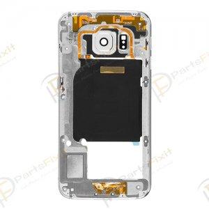 Rear Housing for Samsung Galaxy S6 Edge White Original