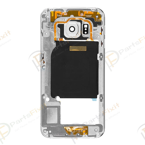 Rear Housing for Samsung Galaxy S6 Edge White Original