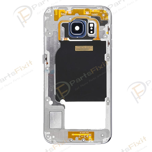 Rear Housing for Samsung Galaxy S6 Edge Sapphire Original