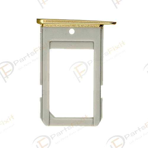 SIM Card Tray for Samsung Galaxy S6 Edge G925 Gold