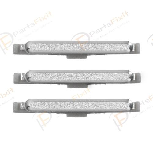 For Samsusng Galaxy S6 Edge G925A Side Keys White