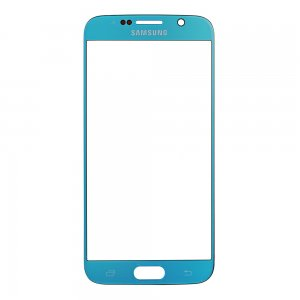 Original for Samsung Galaxy S6 Front Glass Lens Sky Blue