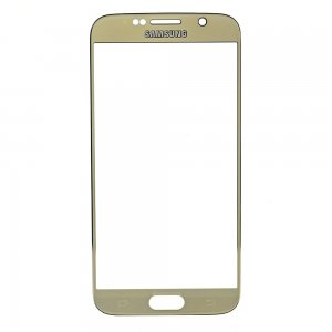 For Samsung Galaxy S6 Front Glass Lens Gold High Copy AA