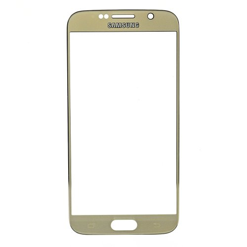 Original for Samsung Galaxy S6 Front Glass Lens Gold