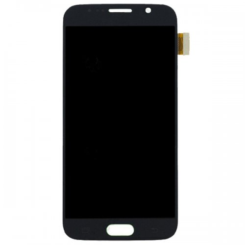 LCD with Digitizer Assembly for Samsung Galaxy S6 Dark Blue Refurbished