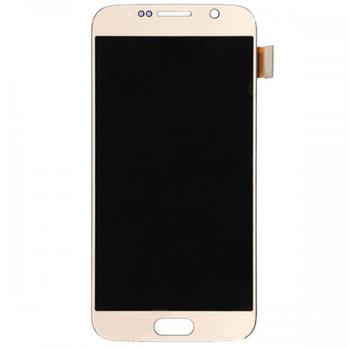 LCD with Digitizer Assembly for Samsung Galaxy S6 Gold Original