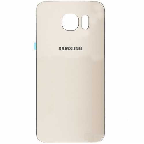 For Samsung Galaxy S6 Battery Cover Gold Original