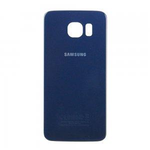 For Samsung Galaxy S6 Battery Cover Blue High Copy