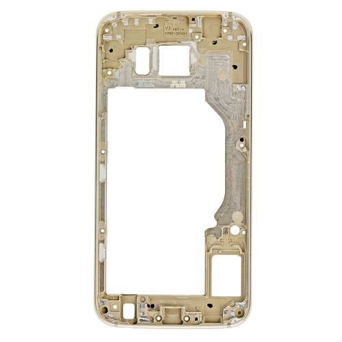 For Samsung Galaxy S6 Rear Housing Frame Gold