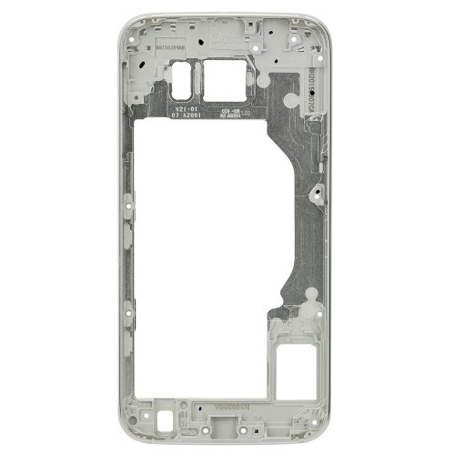 For Samsung Galaxy S6 Rear Housing Frame Silver