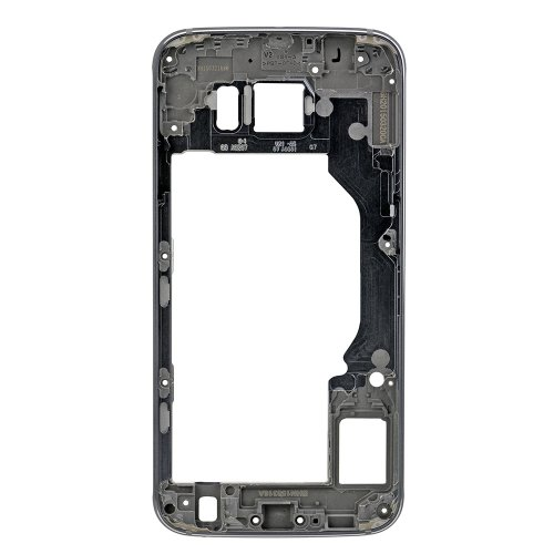 For Samsung Galaxy S6 Rear Housing Frame Grey