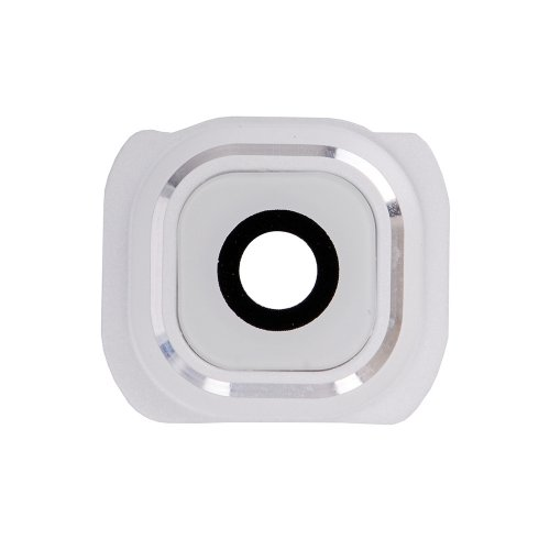 Camera Lens and Bezel for Samsung Galaxy S6 White