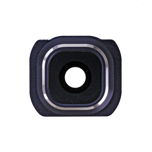 Camera Lens and Bezel for Samsung Galaxy S6 Blue