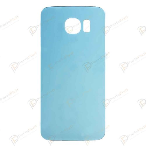 Battery Cover for Samsung Galaxy S6 Light Blue Ori...