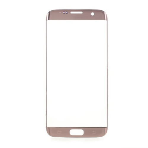 Front Glass Lens for Samsung Galaxy S7 Edge Pink O...