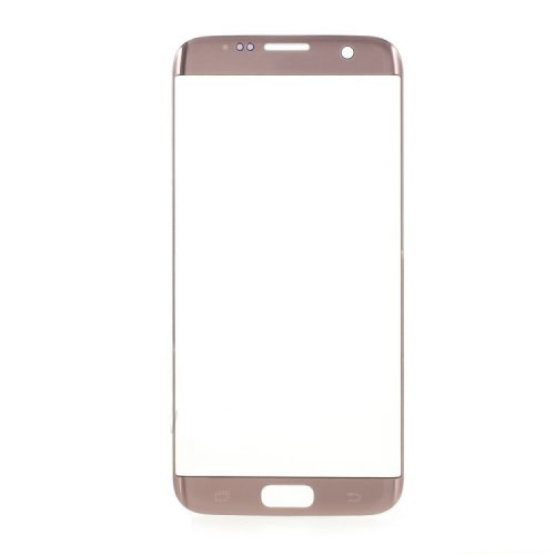 Front Glass Lens for Samsung Galaxy S7 Edge Pink OEM