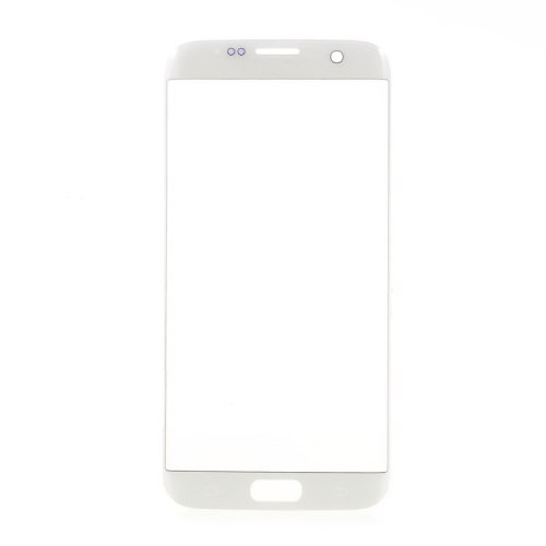 Front Glass Lens for Samsung Galaxy S7 Edge White OEM