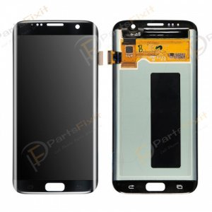 LCD and Digitizer Assembly for Samsung Galaxy S7 Edge Black