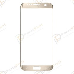Front Glass Lens for Samsung Galaxy S7 Edge Gold OEM