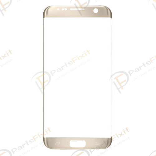 Front Glass Lens for Samsung Galaxy S7 Edge Gold O...