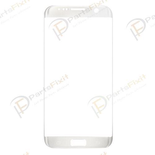 Front Glass Lens for Samsung Galaxy S7 Edge Silver...