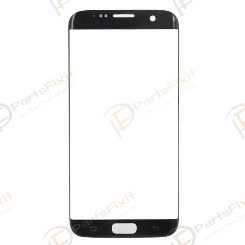 Front Glass Lens for Samsung Galaxy S7 Edge Black ...