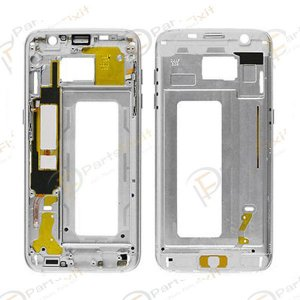 Front Housing for Samsung Galaxy S7 Edge Silver