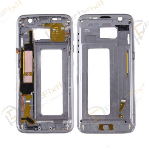 Front Housing for Samsung Galaxy S7 Edge Black