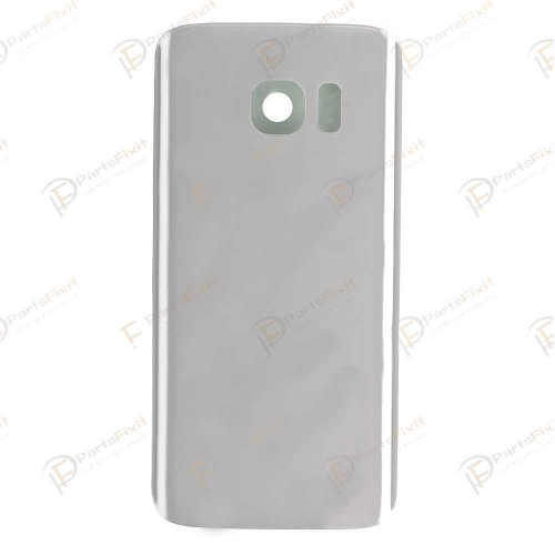 Battery Cover for Samsung Galaxy S7 OEM Silver