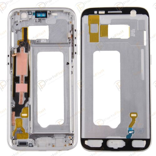 Front Housing for Samsung Galaxy S7 Original Silve...