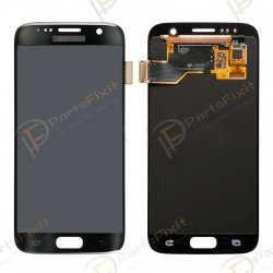 LCD with Digitizer Assembly for Samsung Galaxy S7 Black