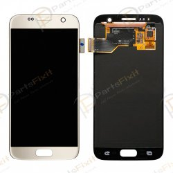 LCD with Digitizer Assembly for Samsung Galaxy S7 Gold