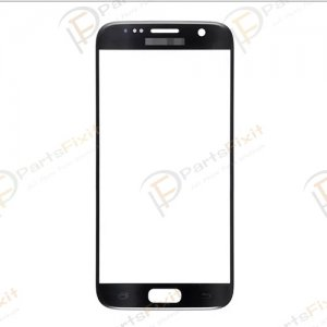 Front Glass Lens for Samsung Galaxy S7 Black