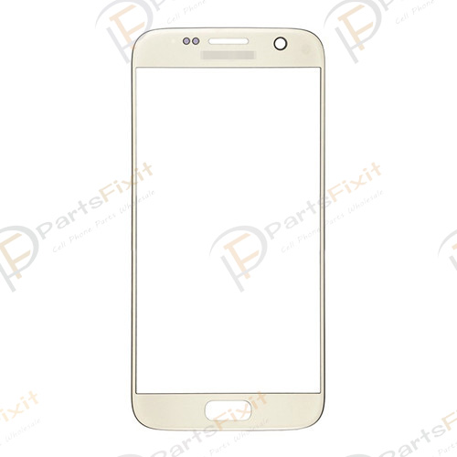 Front Glass Lens for Samsung Galaxy S7 Gold