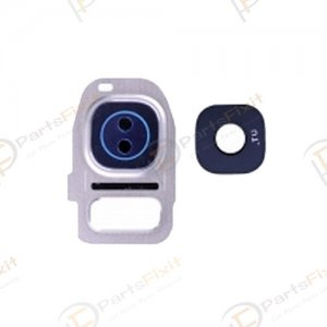 Camera Lens and Bezal for Samsung Galaxy S7/S7 Edge White